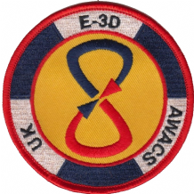 No. VIII (8) Squadron UK E-3D AWACS Royal Air Force RAF MOD Embroidered Patch